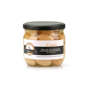 Haricots de Soisson cuisinés au naturel - Bocal 660g (360g net égoutté)