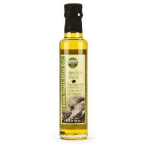 Huile d'olive à la truffe noire - Bouteille 25cl