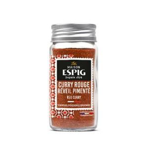 Curry rouge Réveil Pimenté (très piquant) - Flacon 44g