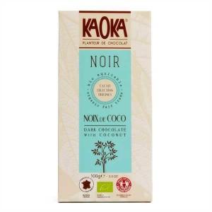 Tablette de chocolat noir 55% à la noix de coco bio - Tablette 100g