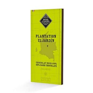 Tablette de chocolat de plantation - El Jardin noir 69% - Tablette 70g