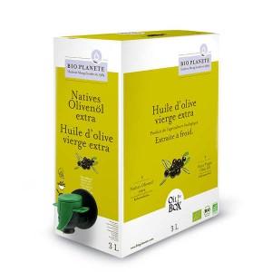 Huile d'olive vierge extra bio en Bag in Box - Bag in Box 3L