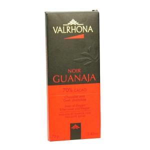 Tablette de chocolat noir Guanaja 70% - Valrhona - Tablette 70g