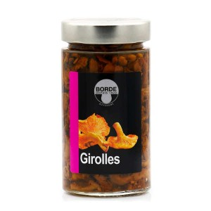 Girolles en conserve - Bocal 305g (175g net égoutté)