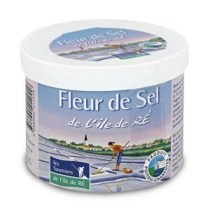 Fleur de sel de l'Ile de Ré - pot carton - Pot 125g