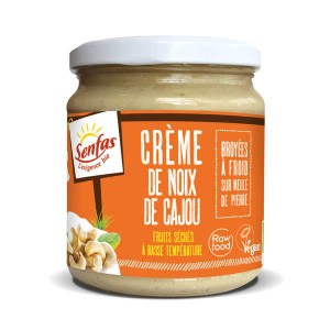 Crème de noix de cajou bio - Pot 300g