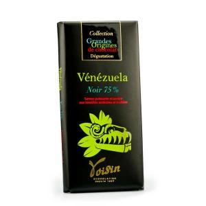 Tablette chocolat noir Vénézuela 75% - Voisin - Tablette 100g