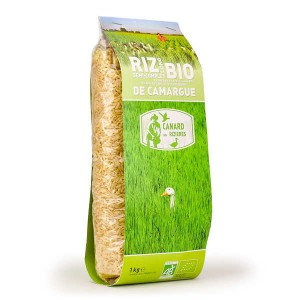 Riz long de Camargue IGP semi-complet bio - Sac 1kg