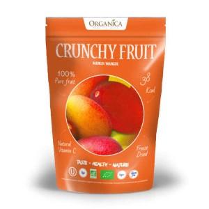 Crunchy fruit - mangue lyophilisée bio - Sachet 18g
