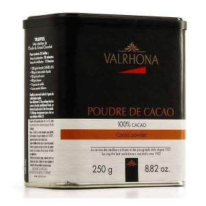 Poudre de cacao Valrhona - Boîte 250g
