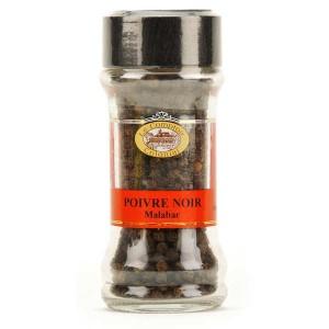 Poivre noir Malabar - Pot 50g