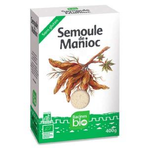 Semoule de manioc bio et sans gluten - Paquet 400g