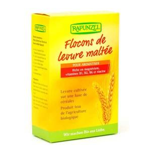 Flocons de levure maltée en paillettes bio - Boite 150g