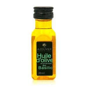 Mignonnette d'huile d'olive vierge extra au basilic - Mignonnette 20ml