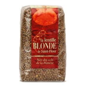 Lentilles blondes de Saint Flour - Sachet 500g