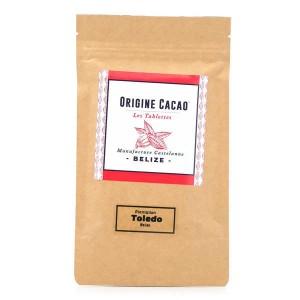 Tablette chocolat noir Belize - Toledo 74% - Tablette 80g