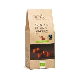 Truffes fantaisie au chocolat bio équitables - Boîte 200g