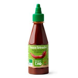 Sauce piment sriracha bio - Bouteille 250g