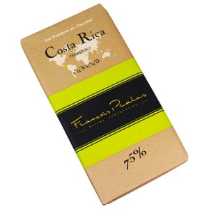 Tablette chocolat noir Costa Rica- Trinitario 75% - Tablette 100g