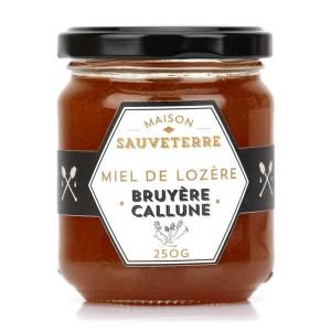 Miel de bruyère callune de Lozère - Pot 40g