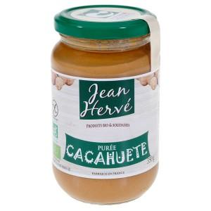 Purée de cacahuètes bio (pâte d'arachides) - Pot 350g