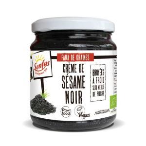 Crème de sésame noir bio - Pot 300g