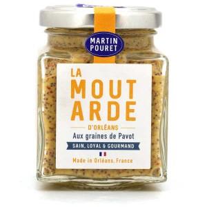 Moutarde d'Orléans aux graines de pavot - Pot 200g
