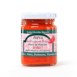 Jeiki - purée de piment d'Espelette - Bocal 90g