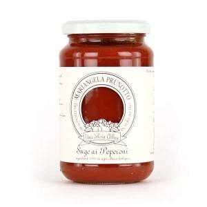 Sauce tomate italienne au poivron bio - Bocal 340g