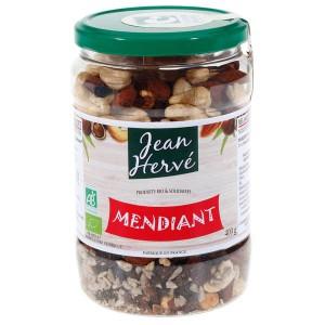 Mélange apéritif bio sans sel de fruits secs et graines - Pot 400g