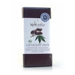 Chocolat noir aux graines de chanvre bio - Tablette 100g