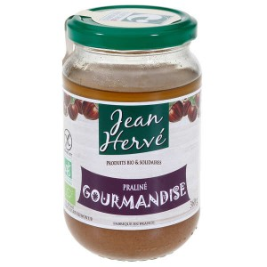 Crème de praliné à la noisette Gourmandise - Pot 360g