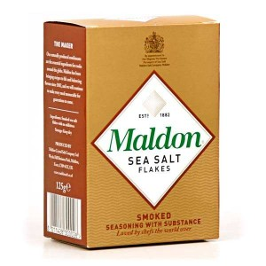 Sel de Maldon fumé (cristaux) - Boite 125g