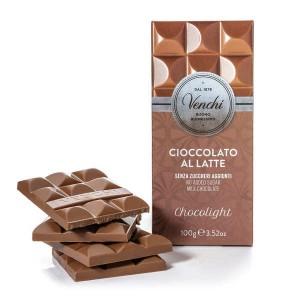 Tablette chocolat au lait chocolight - sans sucres ajoutés - Tablette 100g