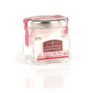 Fleur de sel de Camargue - Mini pot verre 25g