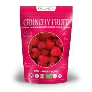 Crunchy fruit - framboise lyophilisée bio - Sachet 12g