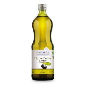Huile d'olive vierge extra douce Bio - Bouteille 1L