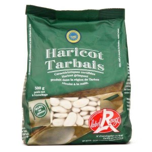 Haricots Tarbais secs label rouge - Sachet 250g