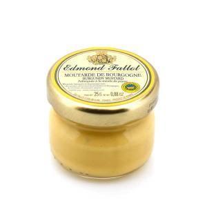 Moutarde de Bourgogne IGP en pot portion - Pot portion 25g