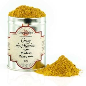 Curry de Madras d'Inde - Boite de 60g