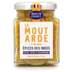 Moutarde d'Orléans aux Epices des Indes - Pot 200g