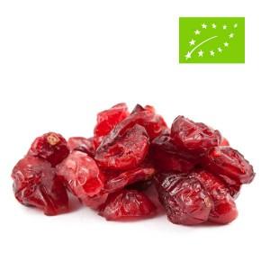 Baies de cranberry / canneberge séchées et sucrées bio - Sachet 500g