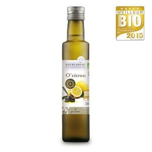 Huile d'olive et citron - o'citron bio - Bouteille 250ml