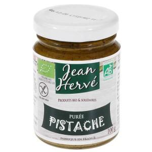 Purée de pistaches bio (purée pur fruit) - Pot 100g