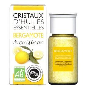 Bergamote - Cristaux d'huiles essentielles à cuisiner - Bio - Flacon 10g