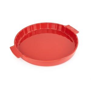 Moule à tarte céramique rouge 30 cm Peugeot