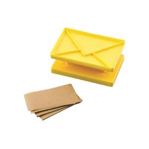 Kit de biscuits à message forme enveloppe Silikomart