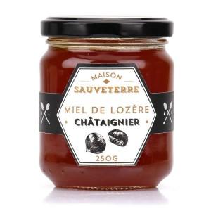 Miel de châtaignier de Lozère - Pot 125g