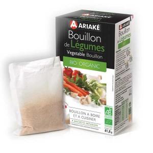 Bouillon de légumes bio - Ariaké - Boite de 4 sachets