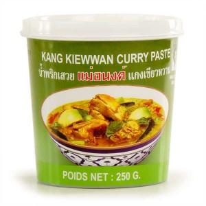 Pâte de curry verte thaïe - Pot 250g